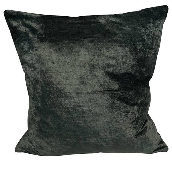 Cushion Cover Slub Velvet Deep Green