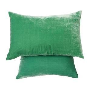 Image of cushion cover Silk velvetPalm